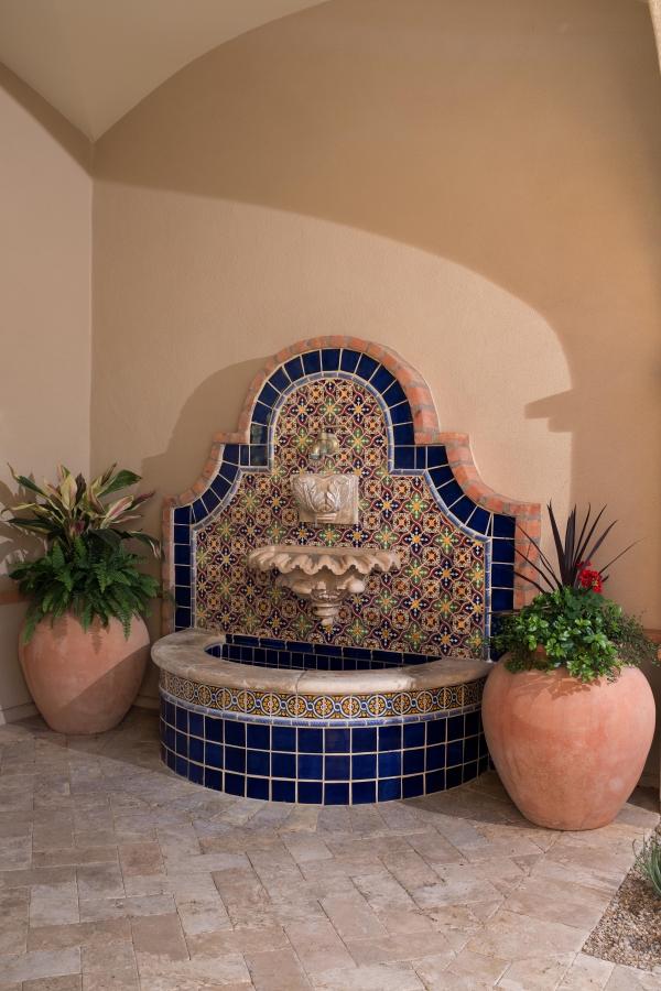 Entry Courtyard Fountain