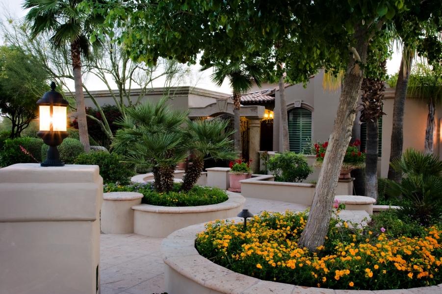 Winding Courtyard